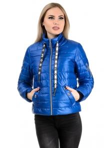 Демисезонная куртка «Илва», р-ры 42-48, №238 электрик