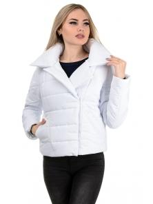 Демисезонная куртка «Ракель», р-ры 42-48, №239 белый