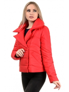 Демисезонная куртка «Ракель», р-ры 42-48, №239 красный