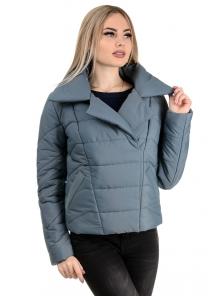 Демисезонная куртка «Ракель», р-ры 42-48, №239 серый