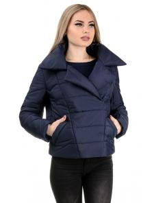 Демисезонная куртка «Ракель», р-ры 42-48, №239 т.синий