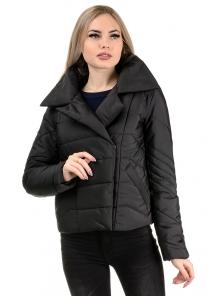 Демисезонная куртка «Ракель», р-ры 42-48, №239 черный