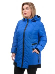 Демисезонная куртка «Норма», р-ры 50-58, №242 василёк