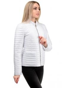 Демисезонная куртка «Вива», р-ры 42-48, №243 белый