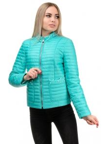 Демисезонная куртка «Вива», р-ры 42-48, №243 мята