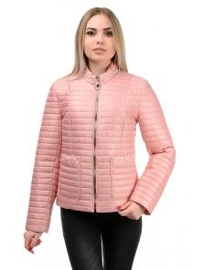Демисезонная куртка «Вива», р-ры 42-48, №243 розовый