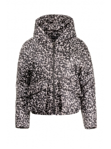Демисезонная куртка «Юва принт», р-ры 42-48, №244 рысь