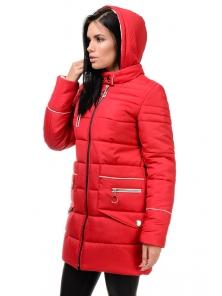 Зимняя куртка «Пэм», 42-48, арт.248 красный