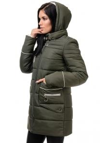Зимняя куртка «Пэм», 42-48, арт.248 хаки