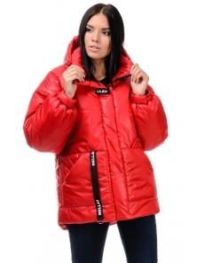 Зимняя куртка «Джемма», 44-50, арт.249 красный
