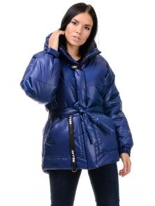 Зимняя куртка «Джемма», 44-50, арт.249 синий
