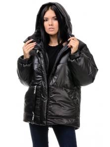 Зимняя куртка «Джемма», 44-50, арт.249 черный