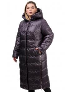 Пальто «Ася»,52-58, арт.250 бордо