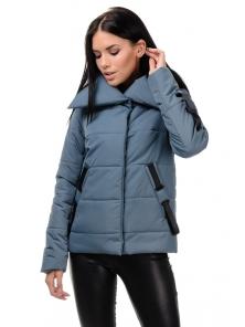 Демисезонная куртка «Люси», 42-48, арт.254 серый