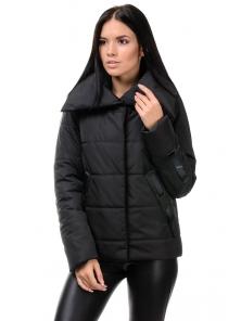 Демисезонная куртка «Люси», 42-48, арт.254 черный