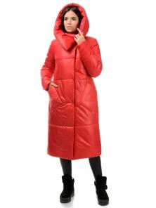 Пальто «Сьюзи»,44-50, арт.257 красный