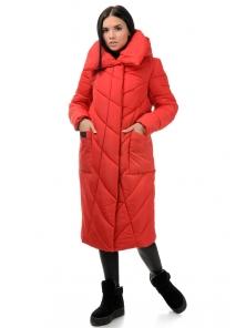Пальто «Тильда», 44-50, арт.258 красный