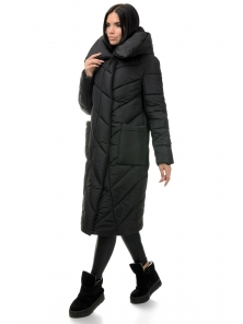 Пальто «Тильда», 44-50, арт.258 черный