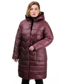 Куртка «Кери», 50-60, арт.259 бордо