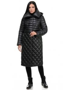 Пальто «Полли», 44-50, арт.261 черный