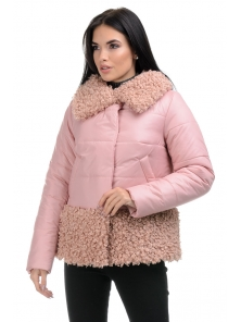 Куртка «Барбара», 44-50, арт.266 пудра