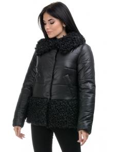 Куртка «Барбара», 44-50, арт.266 черный