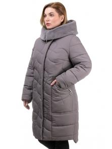 Пальто «Евро», 52-60, арт.267 мокко