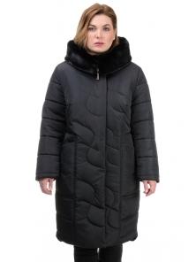 Пальто «Евро», 52-60, арт.267 черный