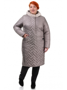 Пальто «Шарлиз», 52-60, арт.273 беж