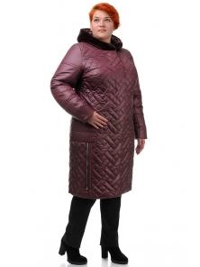Пальто «Шарлиз», 52-60, арт.273 бордо