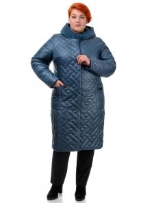 Пальто «Шарлиз», 52-60, арт.273 морская волна