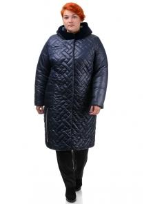 Пальто «Шарлиз», 52-60, арт.273 синий