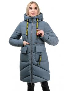 Пальто «Юлианна», 44-50, арт.275 серый