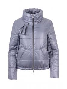 Куртка демисезонная «Джэйн», 42-48, арт.278 серый