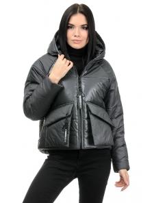 Демисезонная куртка «Фима», 42-48, арт.279 графит