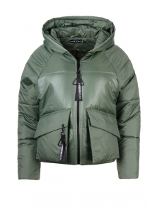 Демисезонная куртка «Фима», 42-48, арт.279 оливка