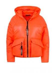 Демисезонная куртка «Фима», 42-48, арт.279 оранжевый