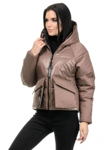 Демисезонная куртка «Фима», 42-48, арт.279 орех