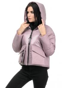 Демисезонная куртка «Фима», 42-48, арт.279 розовый
