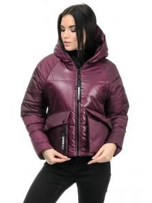 Демисезонная куртка «Фима», 42-48, арт.279 сангрия