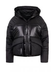 Демисезонная куртка «Фима», 42-48, арт.279 черный
