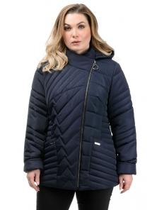 Куртка демисезонная «Зарина», 50-56, арт.280 синий