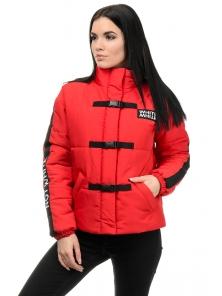 Куртка демисезонная «Каролина», 42-46, арт.281 красный