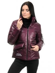 Куртка демисезонная «Клермон», 42-48, арт.282 сангрия