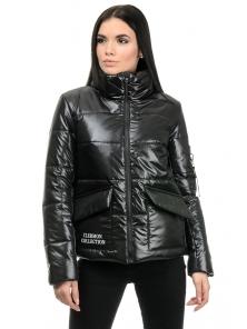 Куртка демисезонная «Клермон», 42-48, арт.282 черный