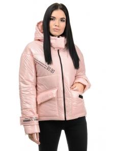 Куртка демисезонная «Эльза», 42-48, арт.283 розовый