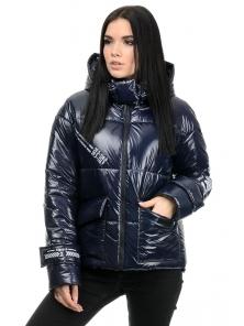 Куртка демисезонная «Эльза», 42-48, арт.283 синий