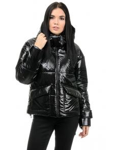 Куртка демисезонная «Эльза», 42-48, арт.283 черный