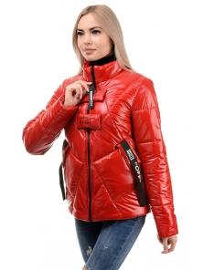 Куртка демисезонная «Ромби», 44-50, арт.284 красный