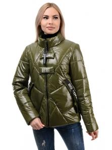 Куртка демисезонная «Ромби», 44-50, арт.284 хаки